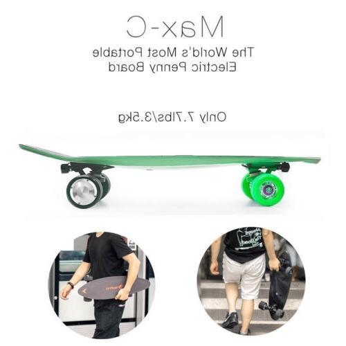 Maxfind Electric 500W Longboard Skateboard