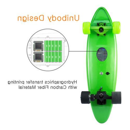 Maxfind Electric 500W Longboard Skateboard Wireless Remote Maple Deck