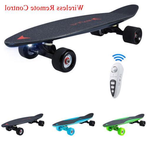 maxfind electric 500w moterized longboard skateboard wireles