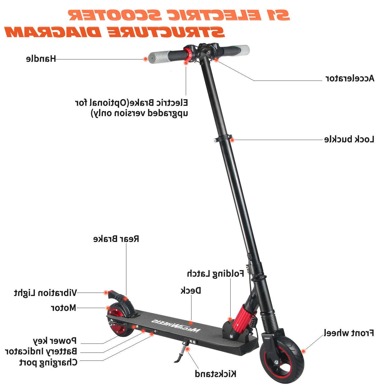 Megawheels Foldable Skateboard Folding E-Scooter