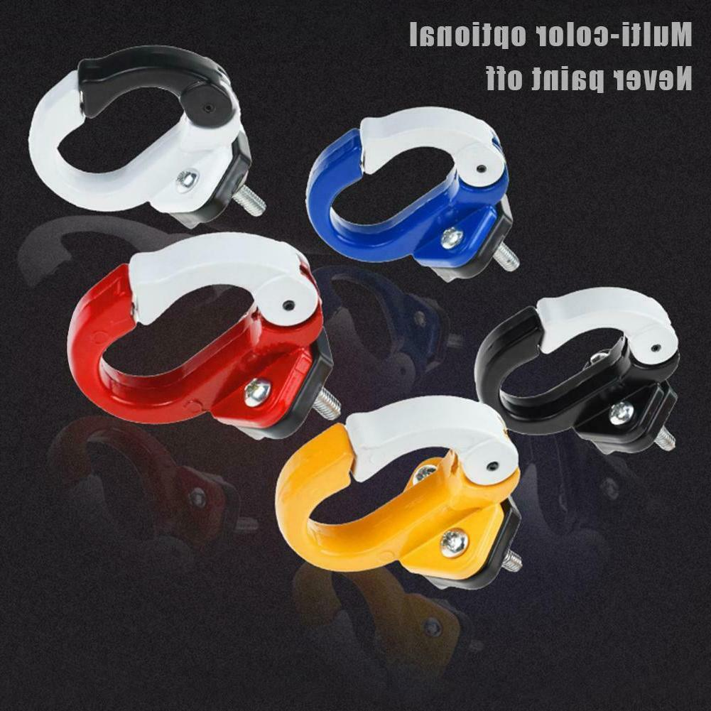Metal Front Helmet Bags Hanger for Xiaomi Electric Scooter Skateboard JF#E