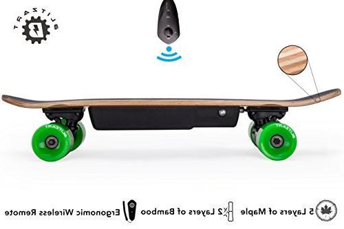BLITZART Mini Electric Skateboard Range Wheels