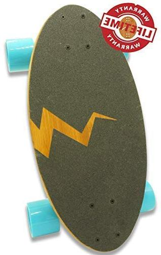 Eggboards Mini Longboard with Bamboo and Longboards Wheels