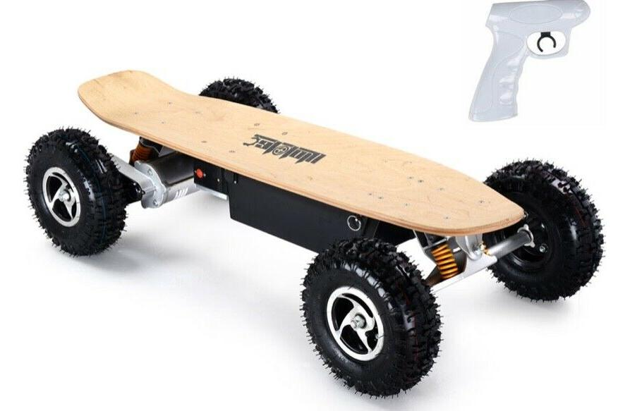 mototec dirt electric skateboard dual