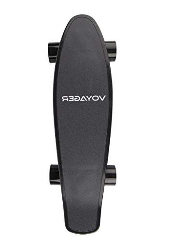 Voyager Neutrino Compact Cruiser Skateboard Remote, Brushless 12.5 MPH Max Speed, up to 7 Range