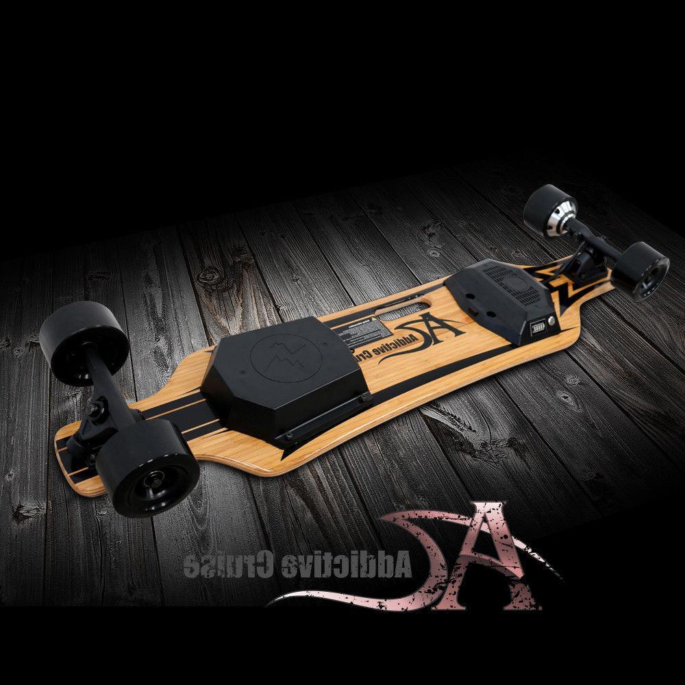 "NEW!Addictive Skateboard 3.5"" Hub-Motor 350W"