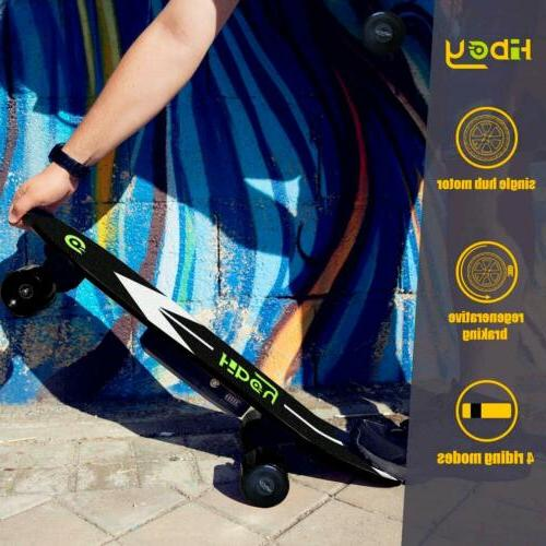 New Electric Scooter with Control Wheels