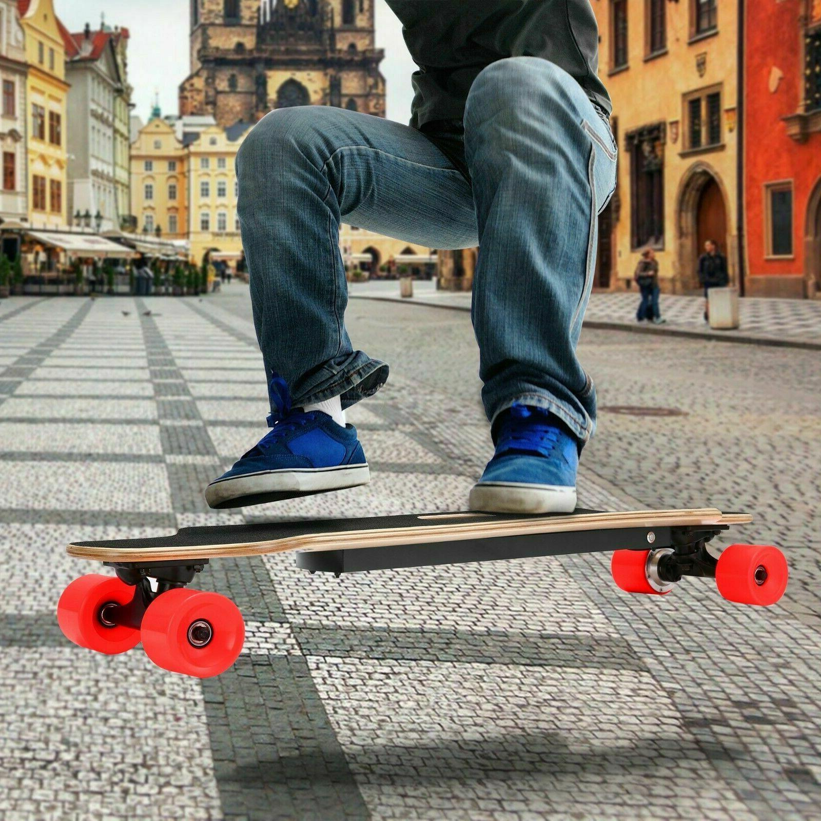 NEW Electric Skateboard with #Red