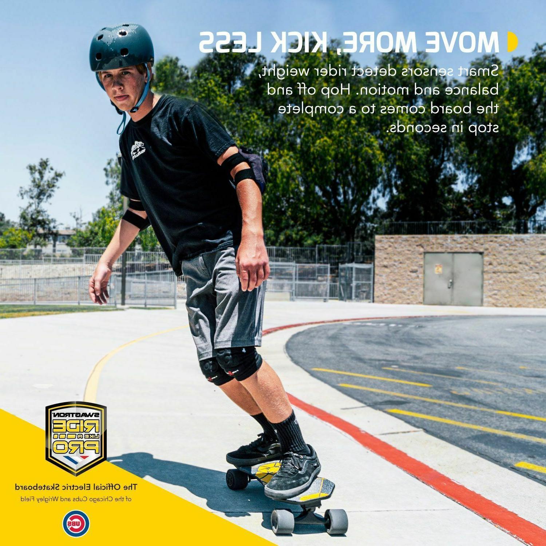 Swagtron Electric Teens Smart Sensors E-Cruiser Skateboard