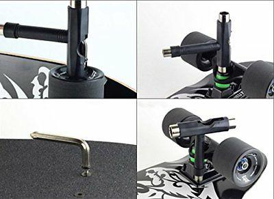 All-In-One Skate Tools Portable Skateboard T Tool Accessory US