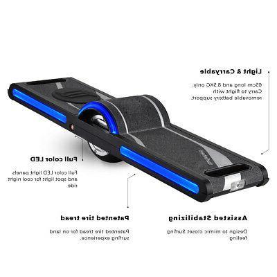 Surfwheel Skateboard with wheel , App support