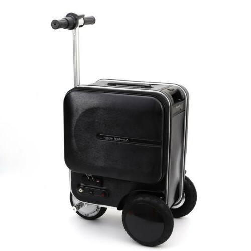 Airwheel Skateboard Luggage Black