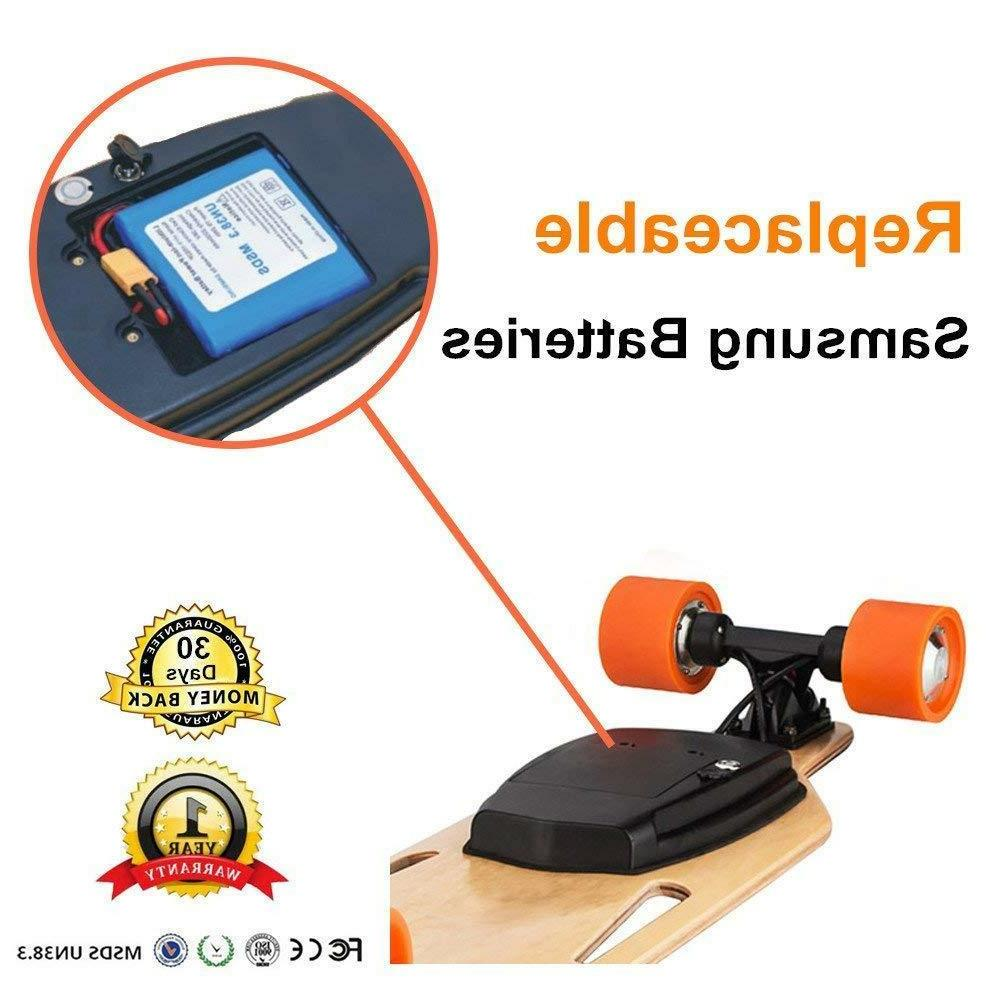 MaxFind Portable Skateboard Longboard