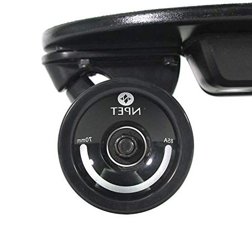 NPET Portable Skateboard with 12 Range