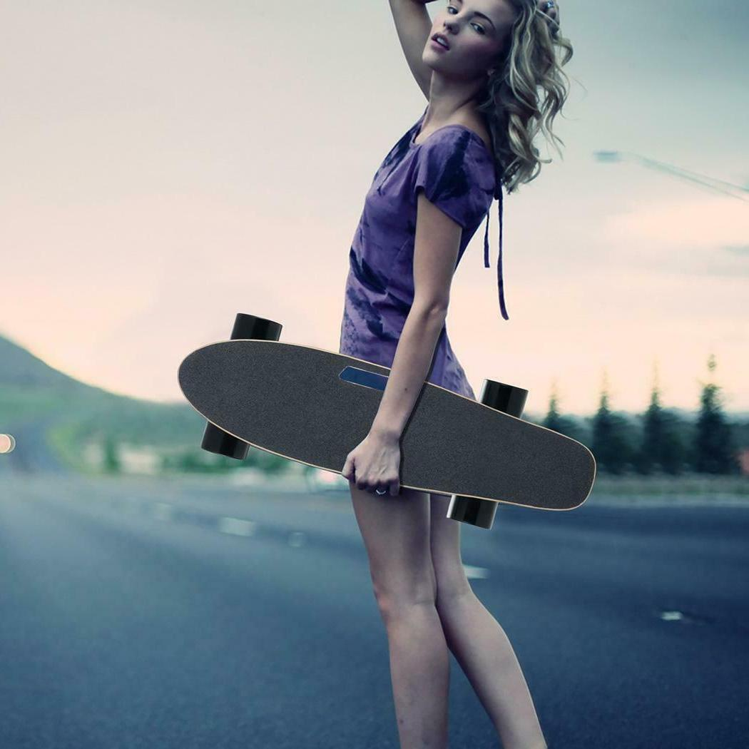 Electric Fish-Board Skateboard Transportation Electric Longb