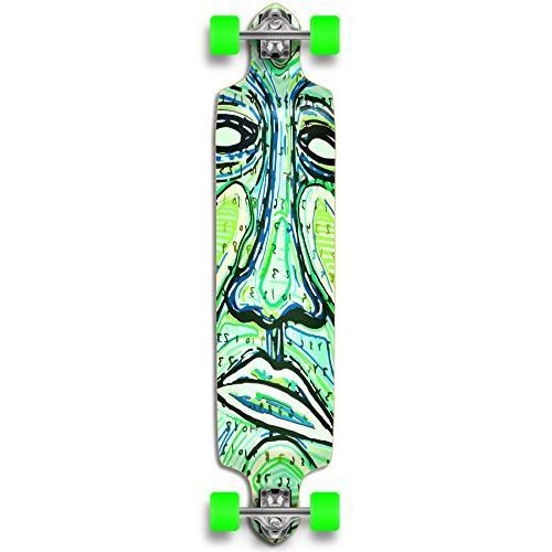 punked countdown longboard complete skateboard