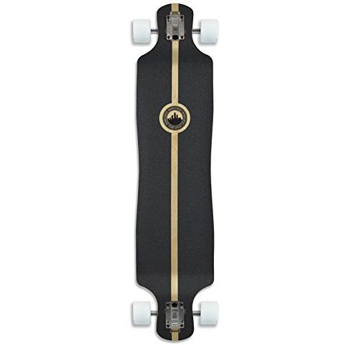 Yocaher Punked Palm Rasta Longboard Complete Skateboard - Available in Shapes