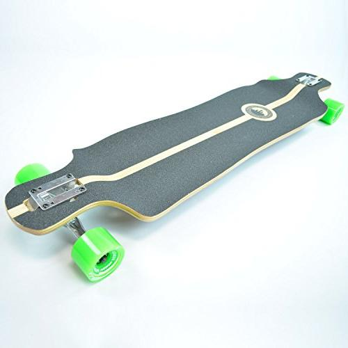Yocaher Rasta Longboard Complete - Available in All Shapes
