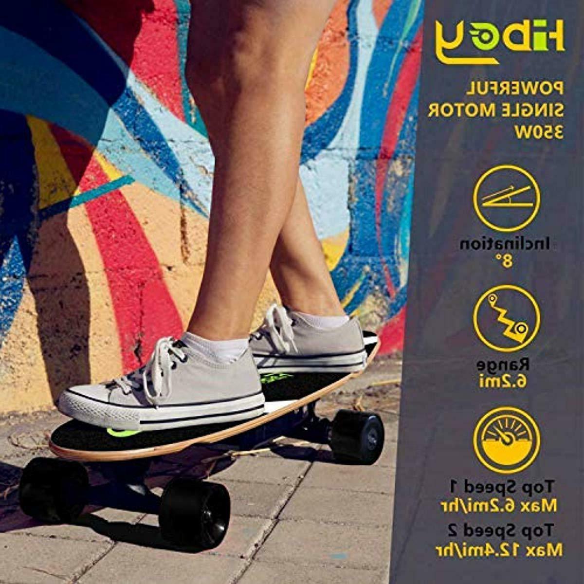 Hiboy Electric Scooter Skateboard Wheels Longboard W/Remote