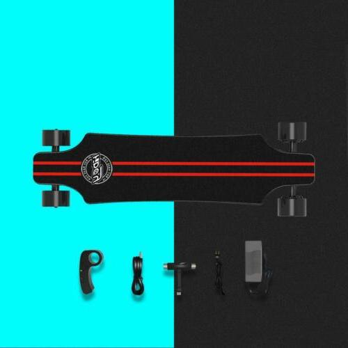 Electric Skateboard w/Wireless Remote Dual Motors