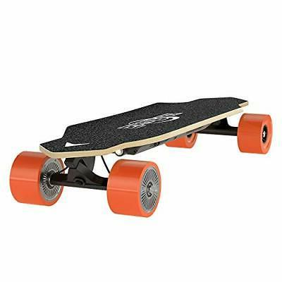 SagaPlay Electric Skateboard with Remote Control + Dual-Moto