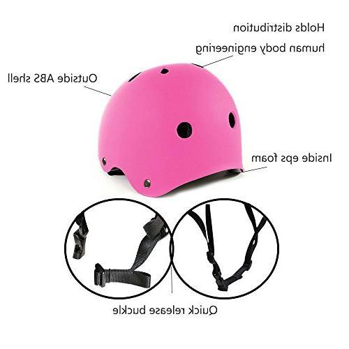 IMPORX Multi-Sport Helmet Impact Safe Helmet with for Scooter Roller Skating