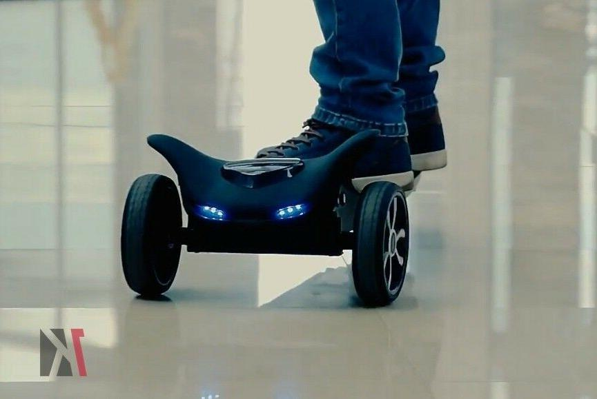 TOMOLOO Somatosensory 3 Three Wheel Electric Skateboard Remote Control