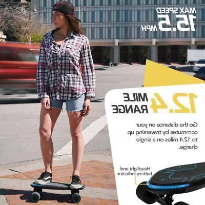 SWAGTRON Advanced Electric Cruiser Skateboard MPH Mobile App
