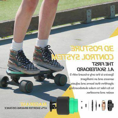 Swagtron Spectra Pro Skateboard Charge MPH App