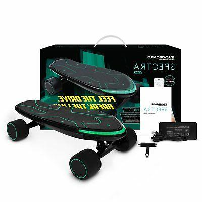 Swagtron Spectra Pro Electric Skateboard Charge 15 MPH Mobile App