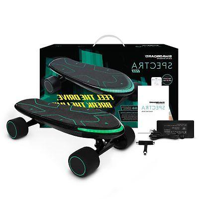 spectra electric skateboard charge mobile