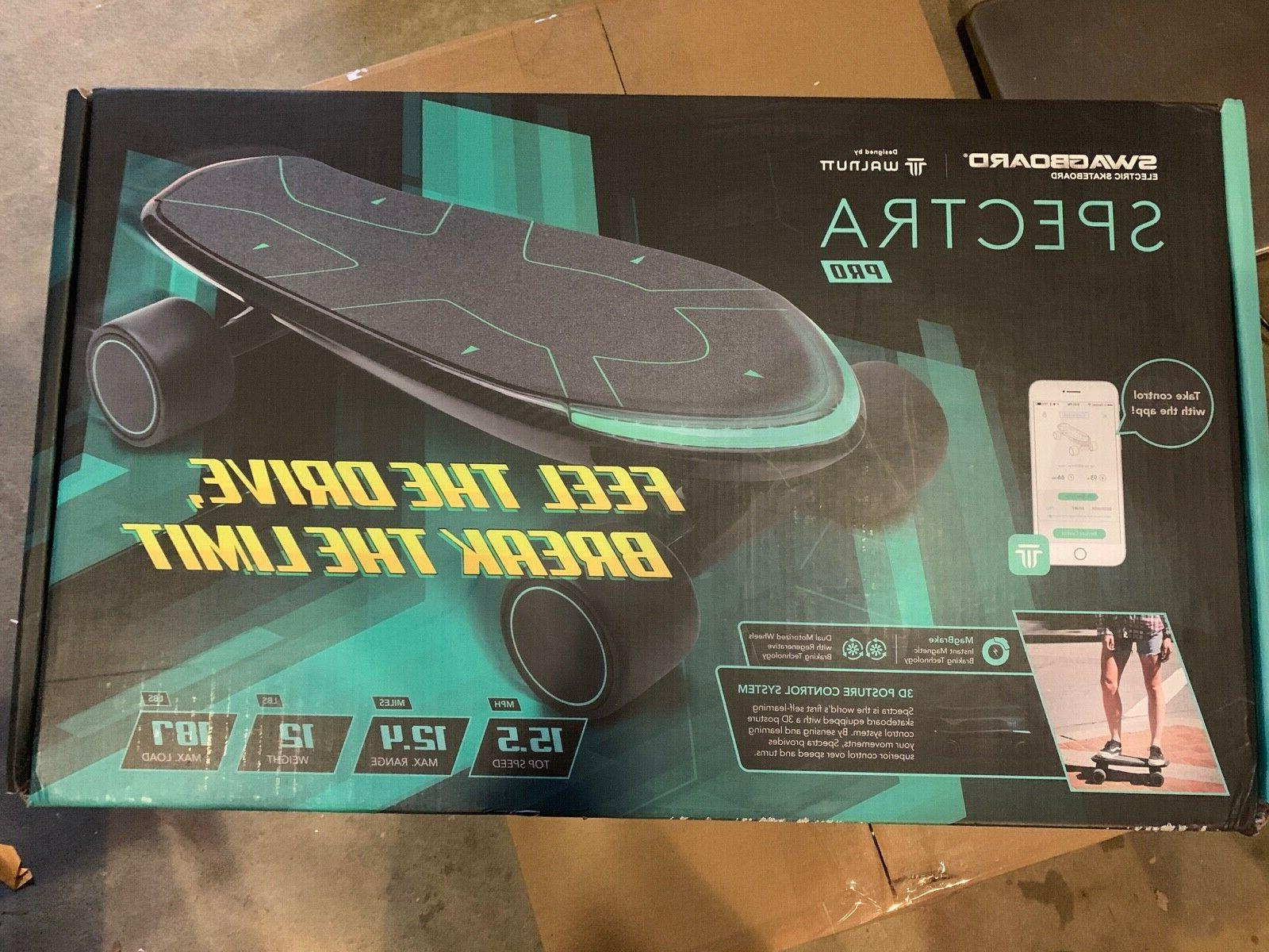spectra pro electric skateboard 12 miles charge