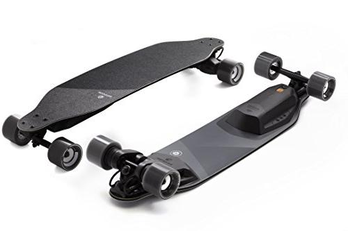 stealth electric skateboard
