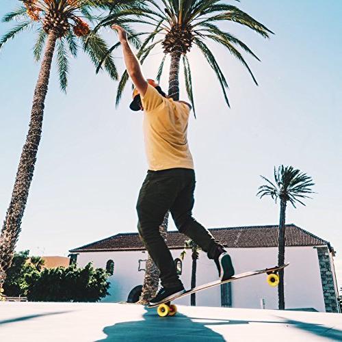 Orangatang Stimulus 70 mm 80a Longboard Skateboard Wheels w/Loaded Bearings