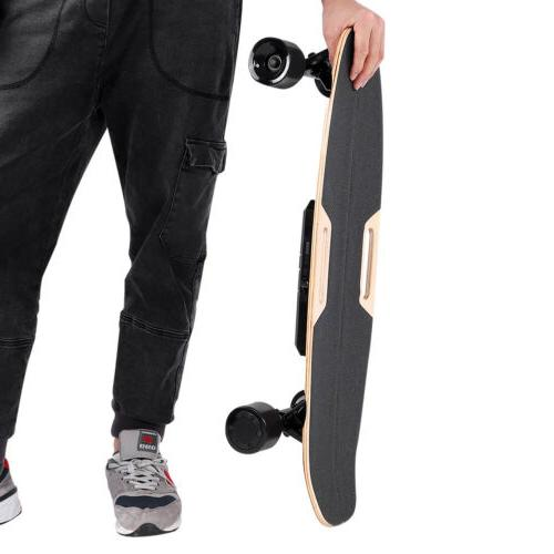 Stunning Electric Skateboard Double Power With Remote