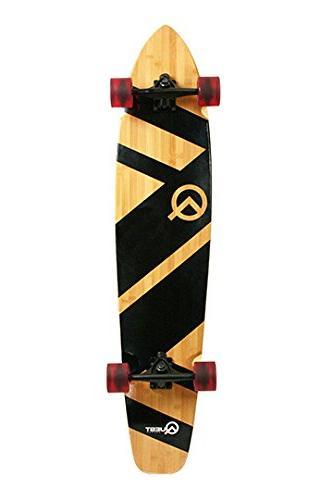 super cruiser artisan bamboo longboard