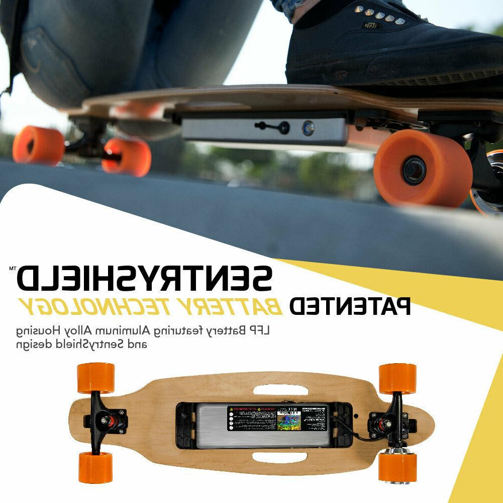 SWAGTRON ELECTRIC LONGBOARD MAPLE REMOTE