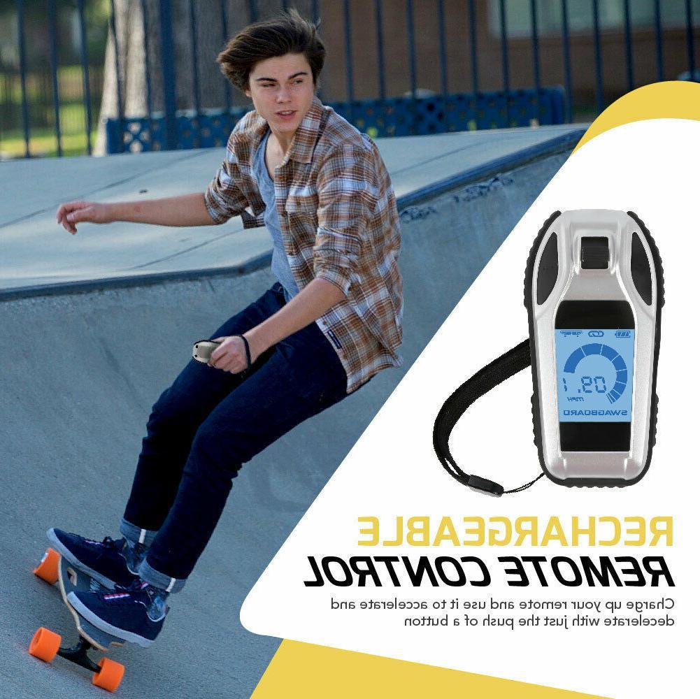 swagboard electric skateboard longboard maple deck wireless