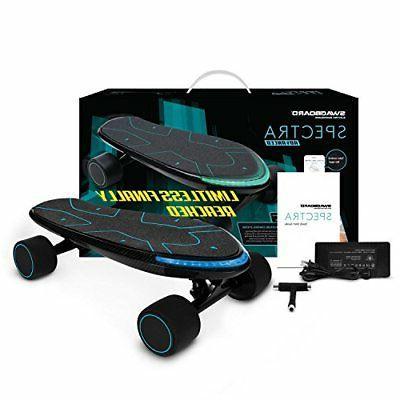 Swagtron Spectra Advanced Electric Cruiser Skateboard 12 Miles