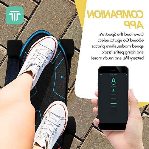 Swagtron Swagboard Advanced Electric Skateboard 12 – 15 MPH – Mobile