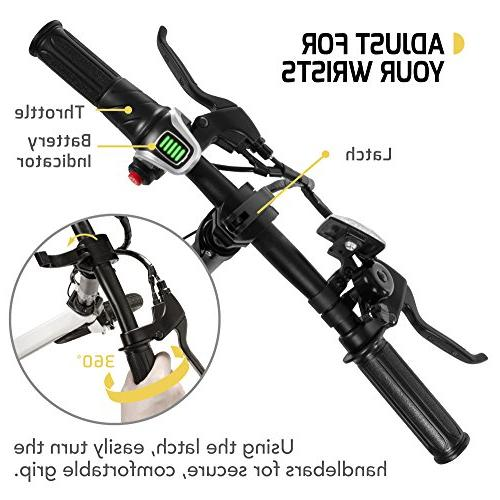 SWAGTRON & Aluminum with Pedals, 58cm/Medium