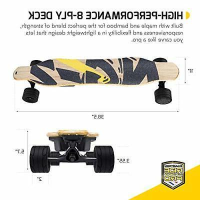 """SWAGSKATE NG2 38"""" A.I. Powered Skateboard"""