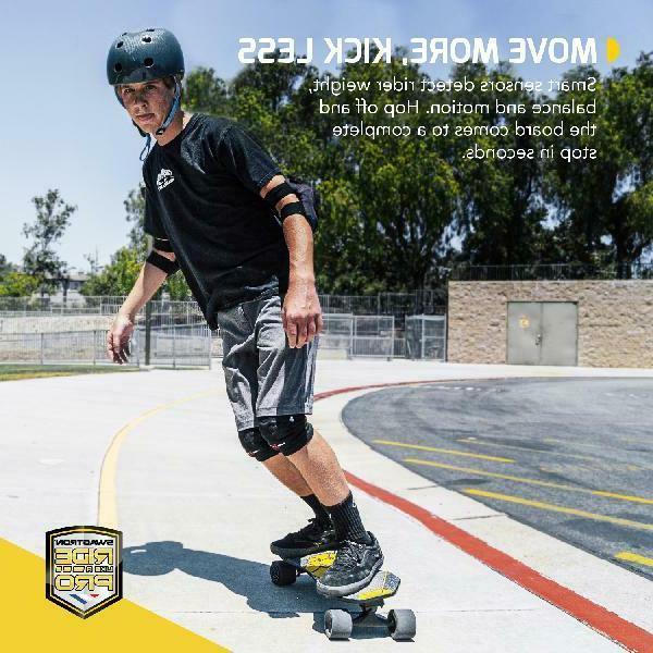 SWAGTRON Skateboard Kids Smart Sensors