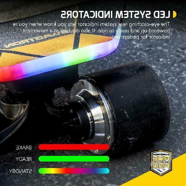SWAGTRON NG3 Skateboard for Kick-Assist Smart