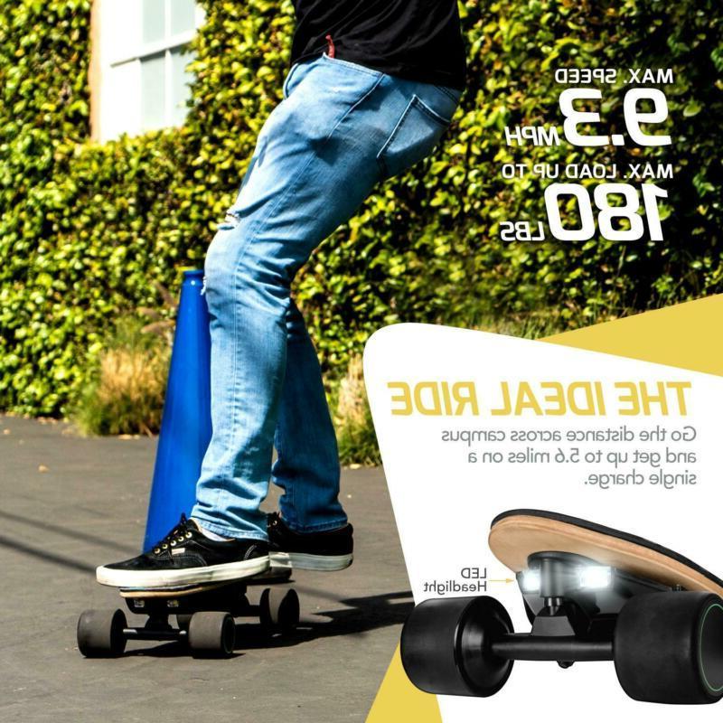 Swagtron Swagskate Spectra AI Electric Skateboard Mobile