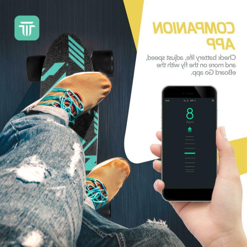 Swagtron Spectra AI Electric Skateboard Mobile