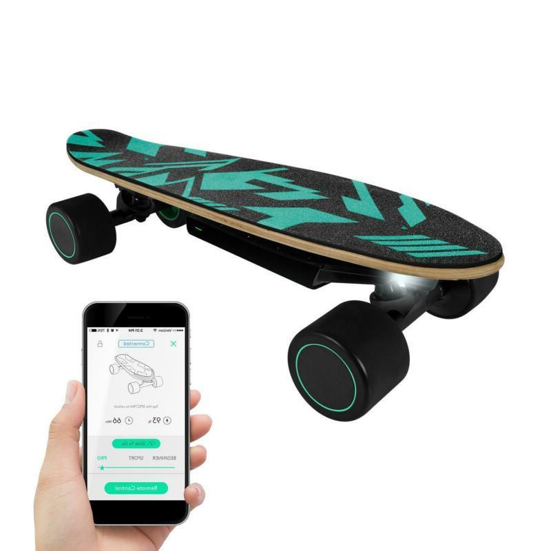 swagskate spectra mini ai electric skateboard