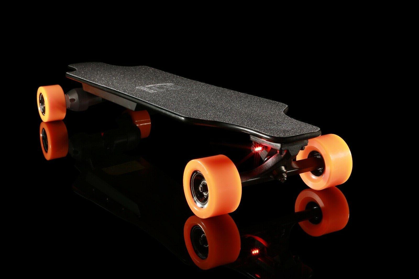 t5 electric skateboard longboard dual 1800w 22mph