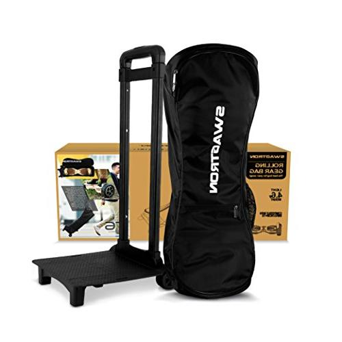 Swagtron –Nylon Hoverboard Case with Wheels and Adjustable Straps