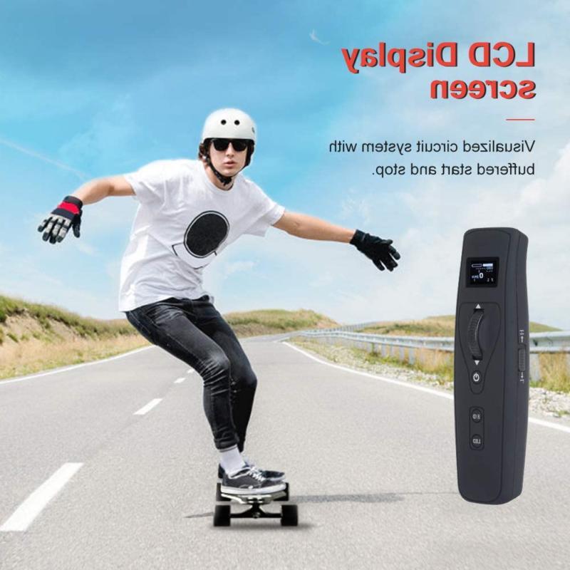 """Teamgee H5 37"""" Skateboard, 22 Top Speed, Dual 11"""